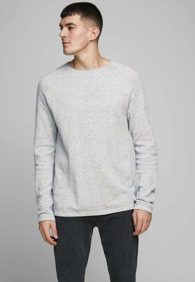 JJEHILL - Jumper - light grey melange