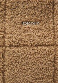 DKNY - POPPY TOTE - Handbag - natural - 4