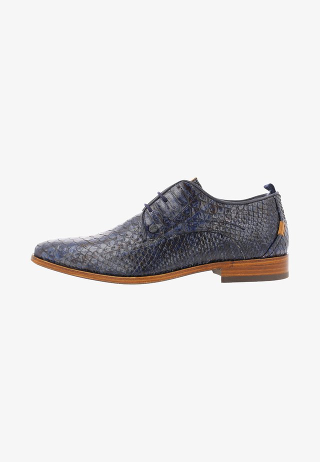 GREG SNAKE FANTASY - Lace-ups - dark blue