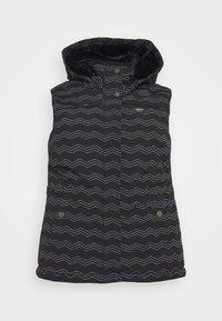 Ragwear Plus - HESTY - Veste sans manches - black - 0