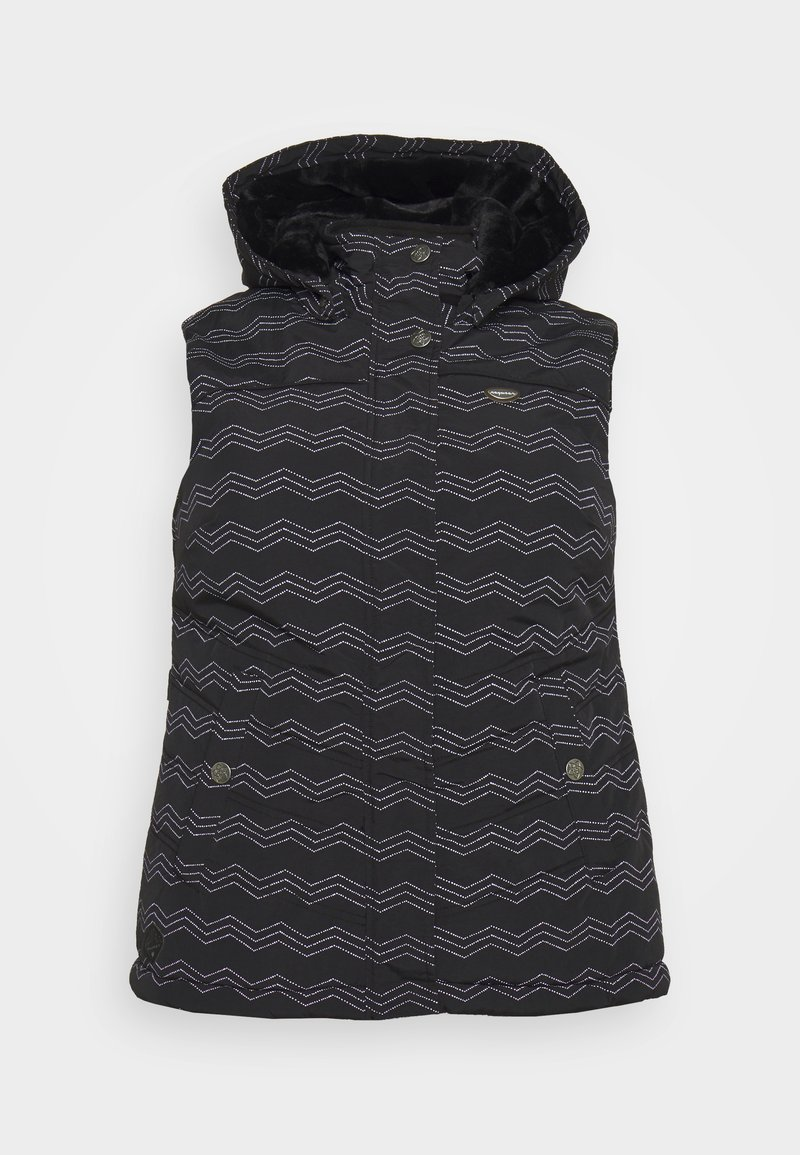 Ragwear Plus - HESTY - Veste sans manches - black