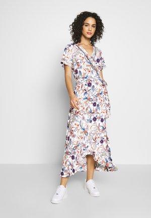 LADIES WOVEN DRESS - Maxi šaty - dalhia blue