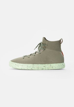 CHUCK TAYLOR ALL STAR CRATER - Höga sneakers - light field surplus/string/barely volt