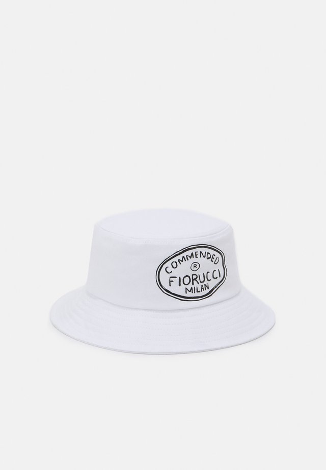 ILLUSTRATED COMMENDED BUCKET HAT UNISEX - Hatte - white