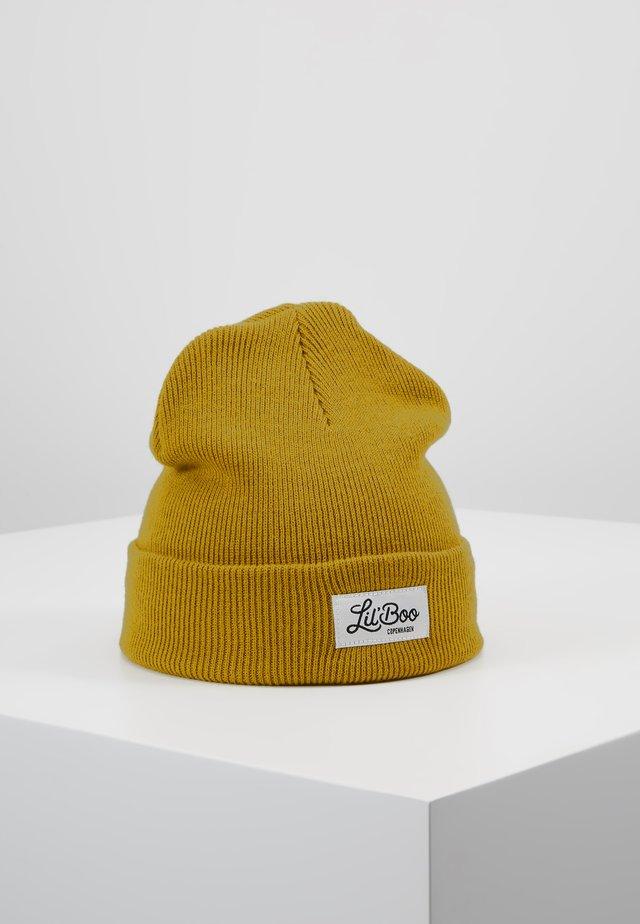 CLASSIC BEANIE - Lue - mustard yellow