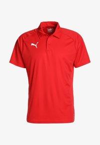 Puma - LIGA SIDELINE  - T-shirt de sport - red/white - 4