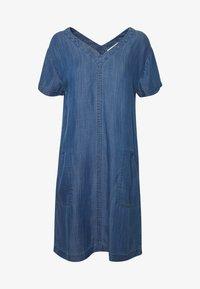 Esprit - DRESS  - Jeanskjole / cowboykjoler - blue medium wash - 4
