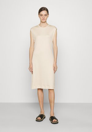 AURORA DRESS - Jerseyklänning - soft beige