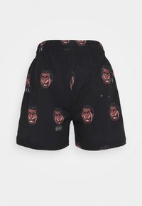 Grimey - FRENZY  SWIMMING SHORT UNISEX - Shorts - black - 1