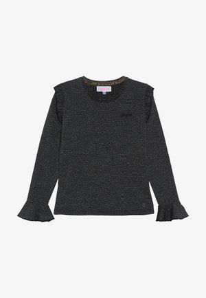 JATITIA - Maglietta a manica lunga - deep black