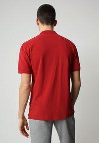 Napapijri - E-ICE - Polo shirt - old red - 1