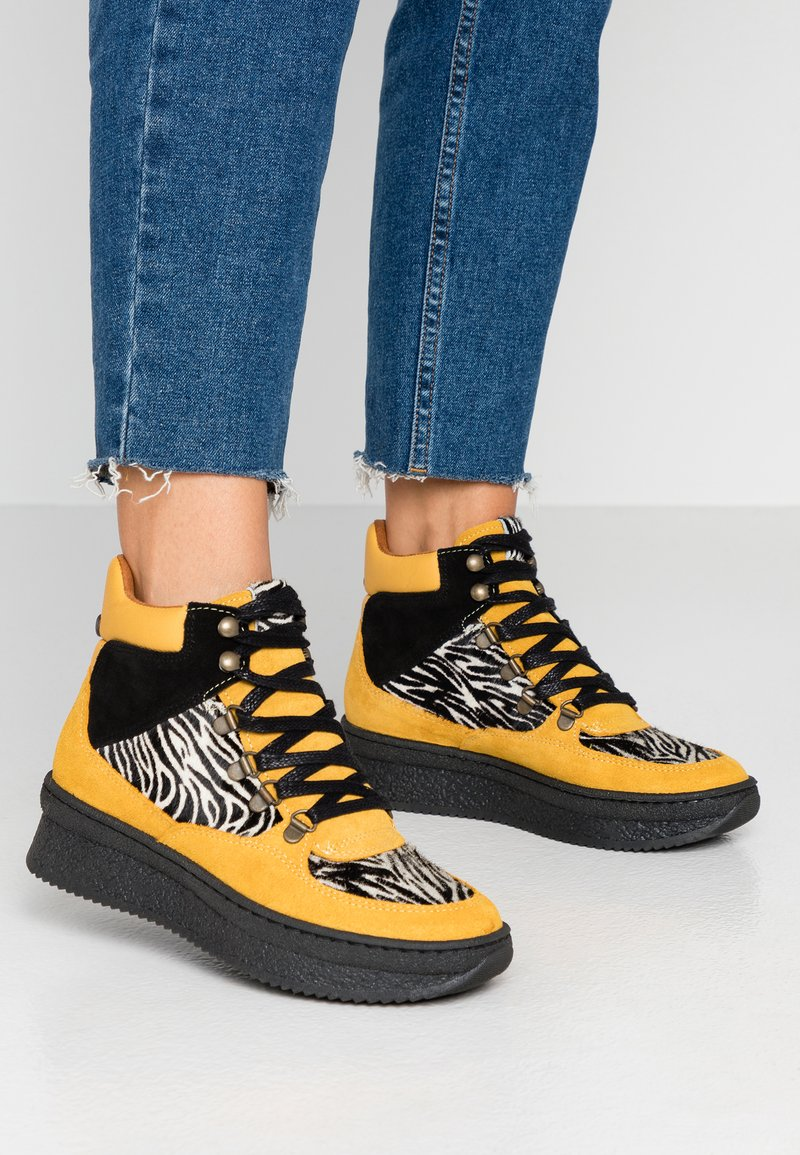 Steve Madden - Ankle boots - yellow/multicolor