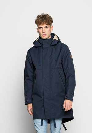 LONG INSIDE QUILTED - Parka - night