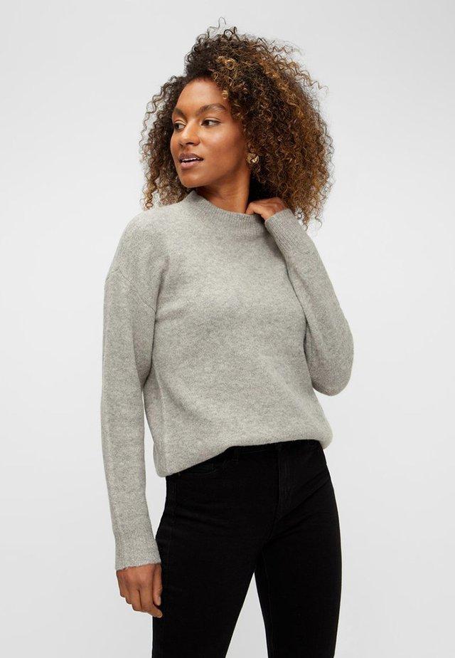 Sweter - medium grey melange