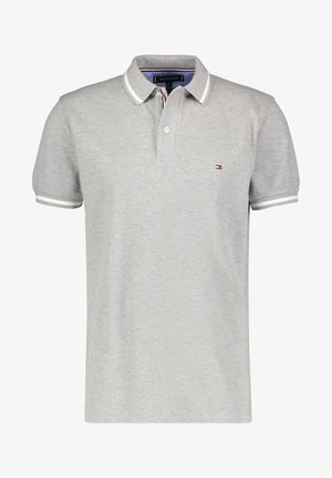 BASIC TIPPED REGULAR - Polo shirt - hellgrau