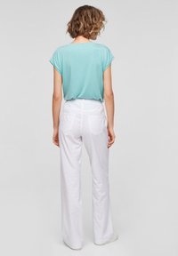 QS by s.Oliver - Trousers - white - 2