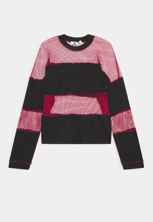 SKATER - T-shirt à manches longues - black