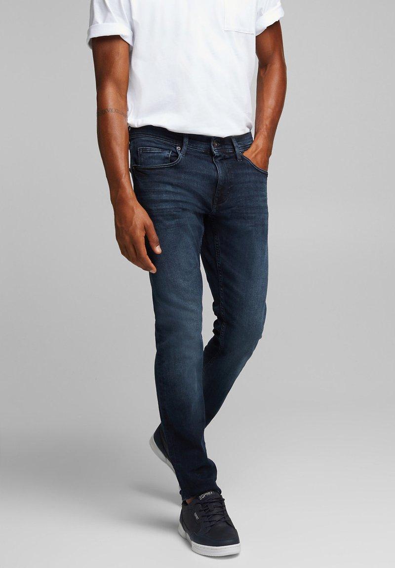 edc by Esprit - Slim fit jeans - blue black