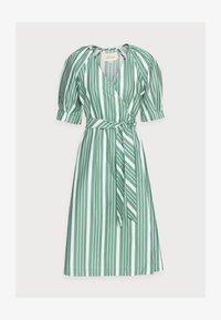 esmé studios - WRAP AROUND DRESS - Day dress - frosty spurce/snow white - 4