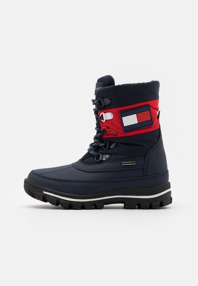 UNISEX - Zimní obuv - blue/red