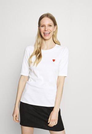 LIDDY  - Print T-shirt - chalk