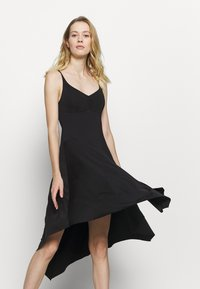 Bloch - ASYMMETRICAL HEM TANK DRESS - Jurken - black - 3