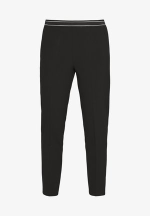 JENNA PANTS - Trousers - black deep