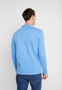 Marc O'Polo - LONG SLEEVE - Polo shirt - pacific coast - 2