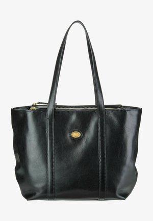 DONNA - Handbag - nero/oro