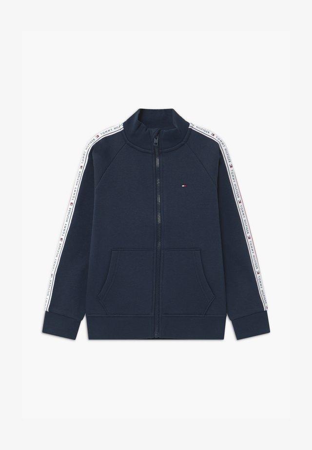 TAPE FULL-ZIP - veste en sweat zippée - blue