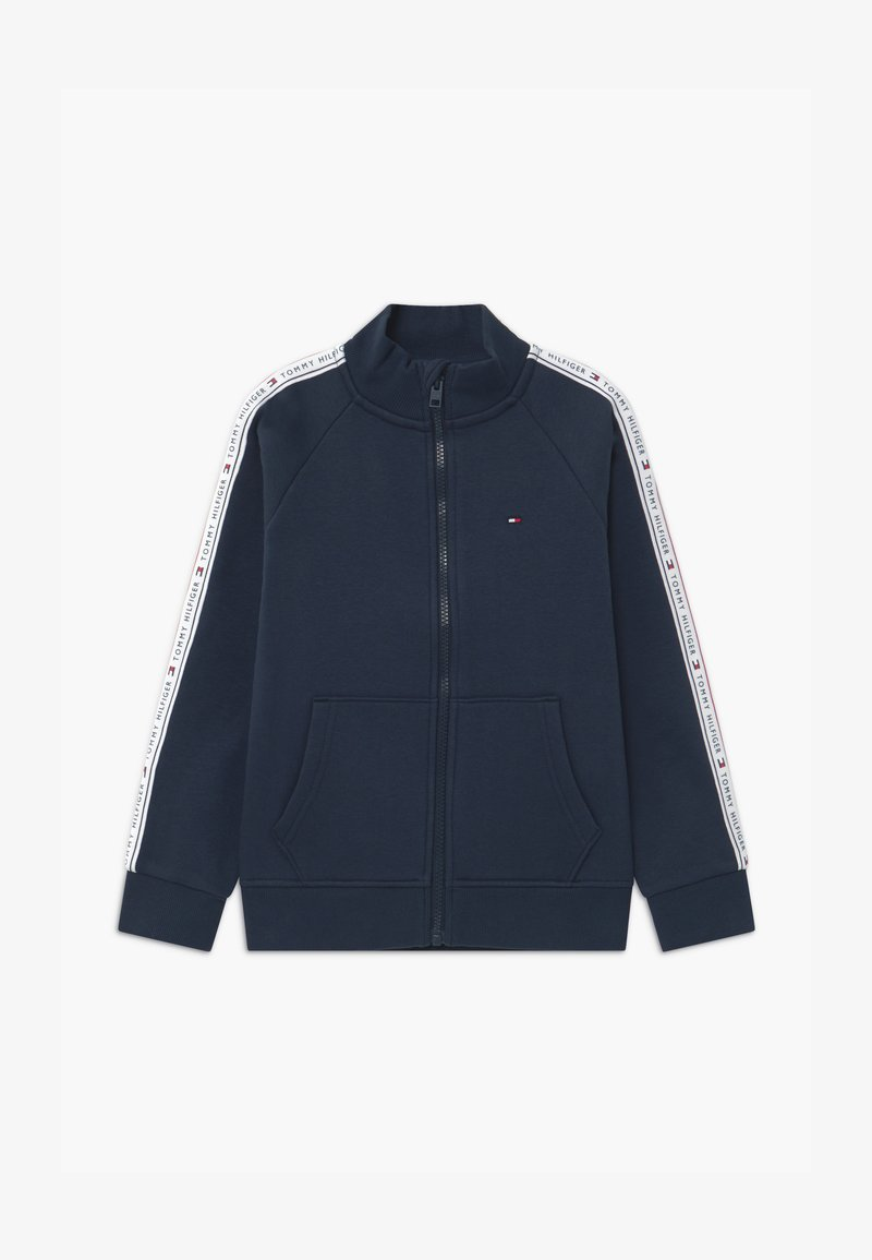 Tommy Hilfiger - TAPE FULL-ZIP - Zip-up hoodie - blue