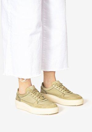 Sneakersy niskie - olive olv