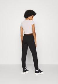 New Look - SLIM LEG JOGGER - Tracksuit bottoms - black - 2