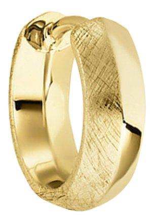 BALDESSARINI HERREN-EINZELNER OHRSCHMUCK 925ER SILBER - Earrings - goldfarben