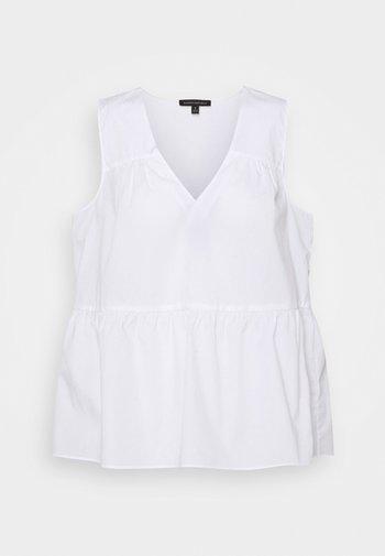 TIERED - Bluser - white