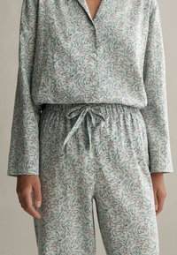 OYSHO - Pyjama bottoms - green - 3