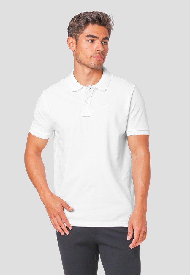 GARNER - Poloshirts - white