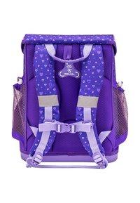 Belmil - SET - School bag - dark purple - 1