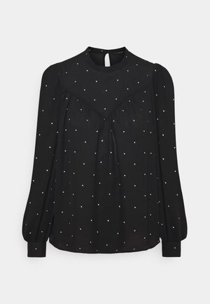 VMMARLEY - Long sleeved top - black/birch