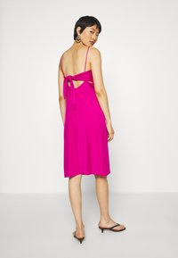 Banana Republic - STRAPPY SLIP - Jersey dress - bright sangria - 2