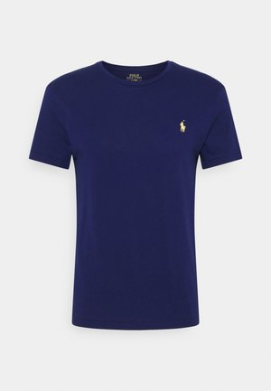 CUSTOM SLIM FIT JERSEY CREWNECK T-SHIRT - T-shirt basic - fall royal