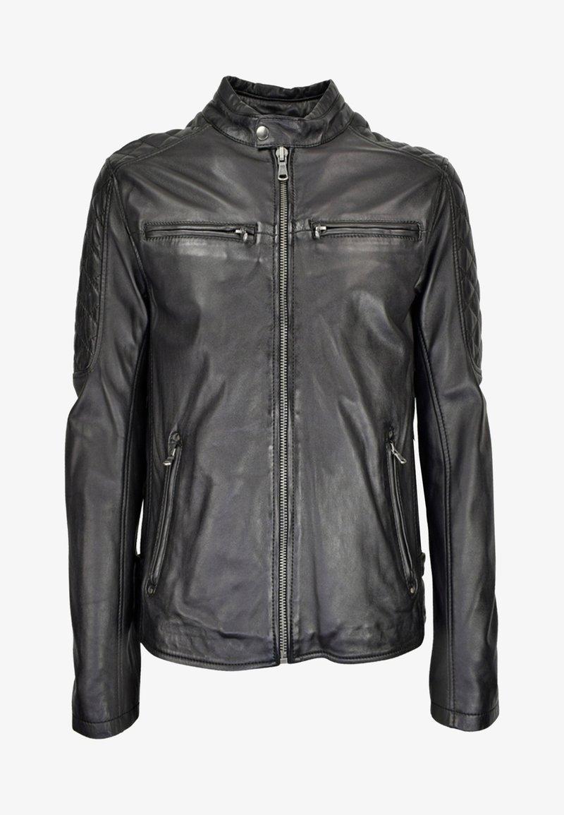 COCO - Leather jacket - schwarz