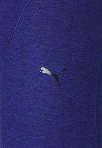 Puma - STUDIO YOGINI LUXE HIGH WAIST - Medias - elektro blue heather - 6