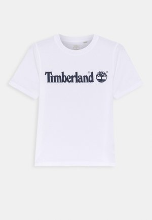 SHORT SLEEVES TEE - Triko s potiskem - white