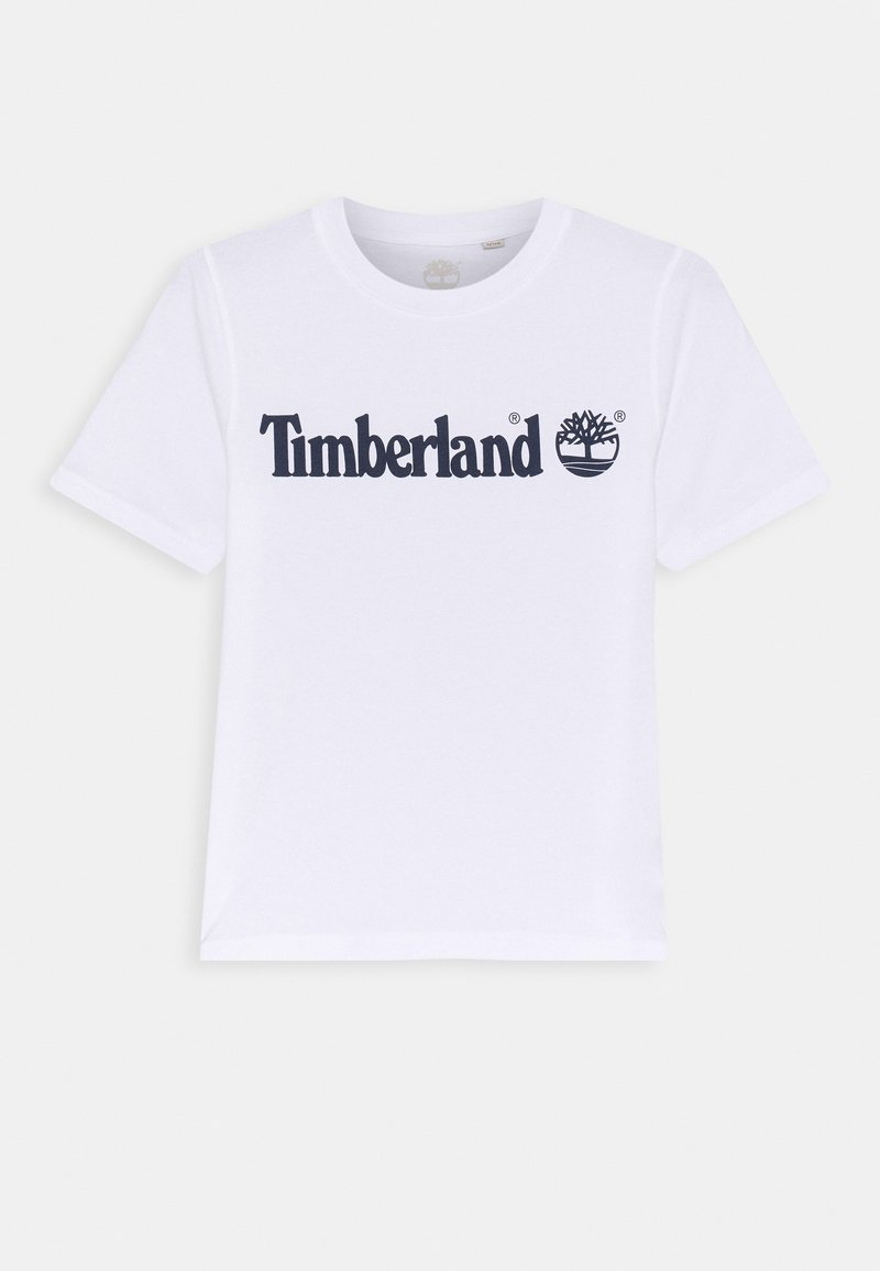 Timberland - SHORT SLEEVES TEE - Print T-shirt - white