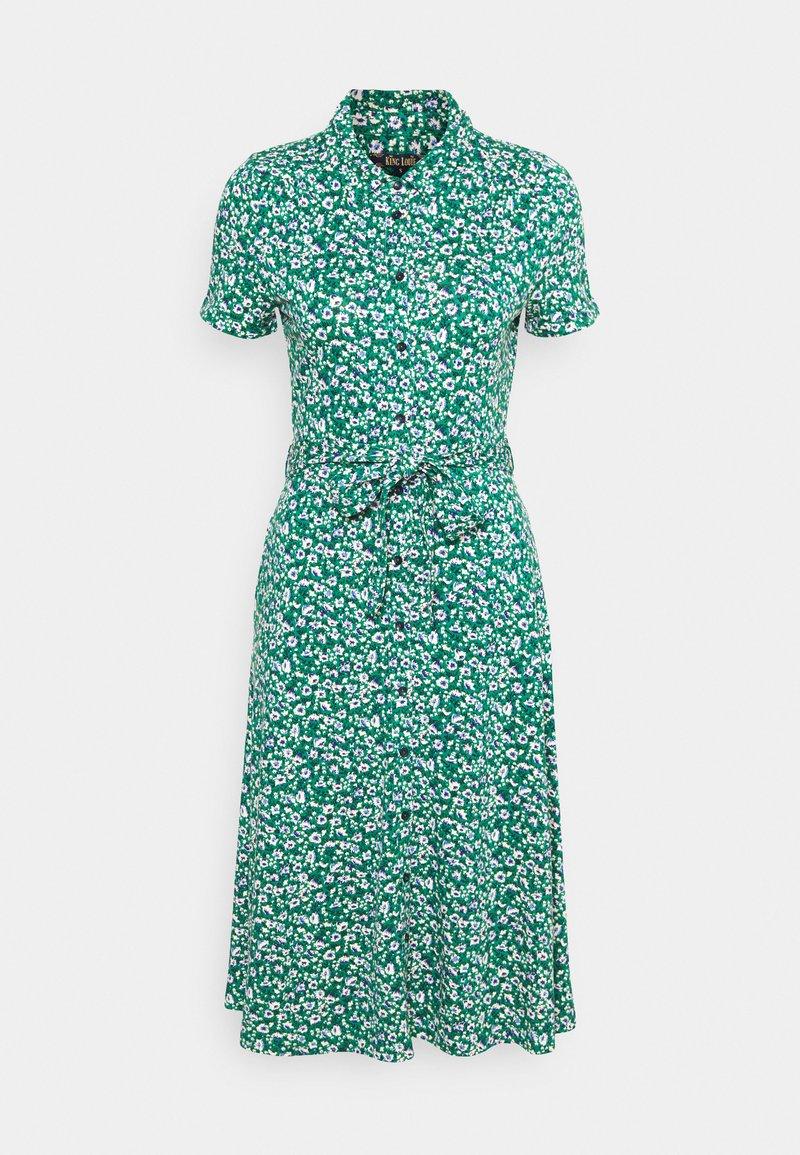 King Louie - DRESS PERRIS - Žerzejové šaty - opal green