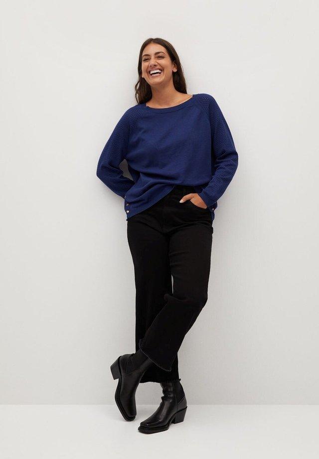 SNAP - Sweter - blau