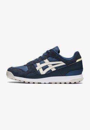 TIGER HORIZONIA - Sneakers laag - iron navy/cream