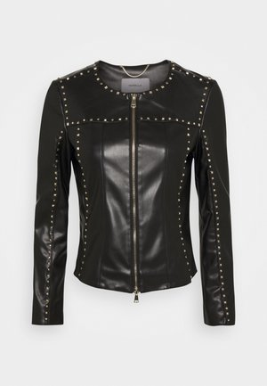 TOMMASO - Faux leather jacket - nero