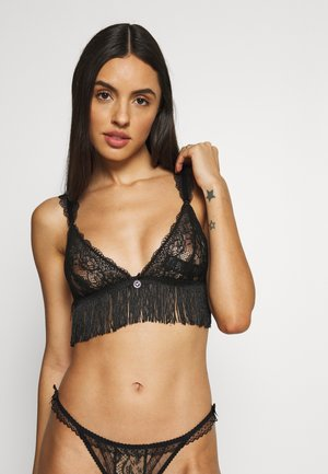 TRIANGLE BRANEO ROMANTIC - Triangle bra - black